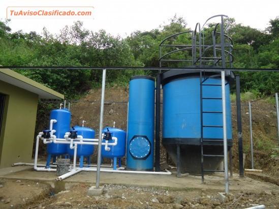 Filtros purificadores y plantas de tratamiento de agua for Purificadores de agua domesticos