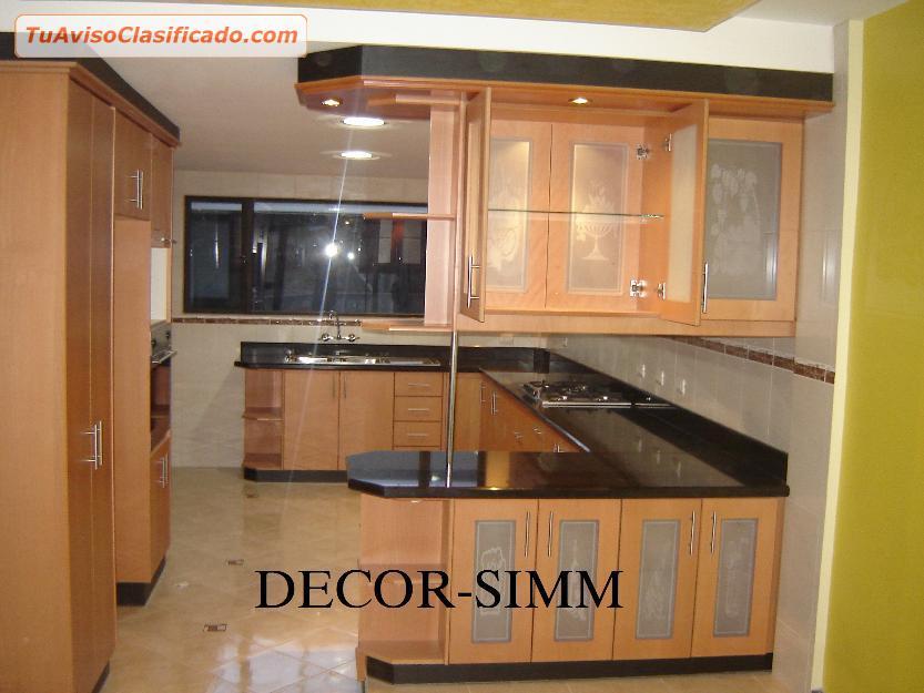 Muebles de cocina modernos con accesorios para cocina for Mueble cocina americana