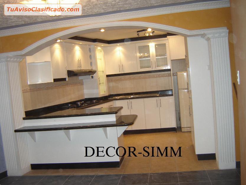 muebles de cocina closet ba os puertas en melamina mesones