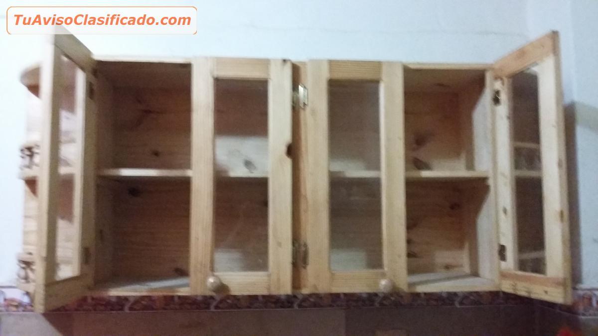 Muebles de cocina closet ba os puertas en melamina mesones for Cocinas armables