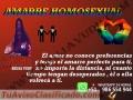 AMARRES PARA EL AMOR, ETERNO Y HOMOSEXUALES