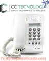 Teléfono Panasonic Análogo con Identificador de Llamadas KX T7703  CC Tecnología Ecuador