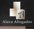 """""""ALAVA ABOGADOS BUFETE JURIDICO"""""""
