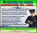 VENTA Y RESERVA DE PASAJES AÉREOS NACIONALES E INTERNACIONALES DE PROMOCIÓN