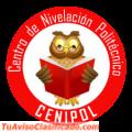 Centro de Nivelación Politécnico Cenipol, cursos Senescyt, pre- politécnicos