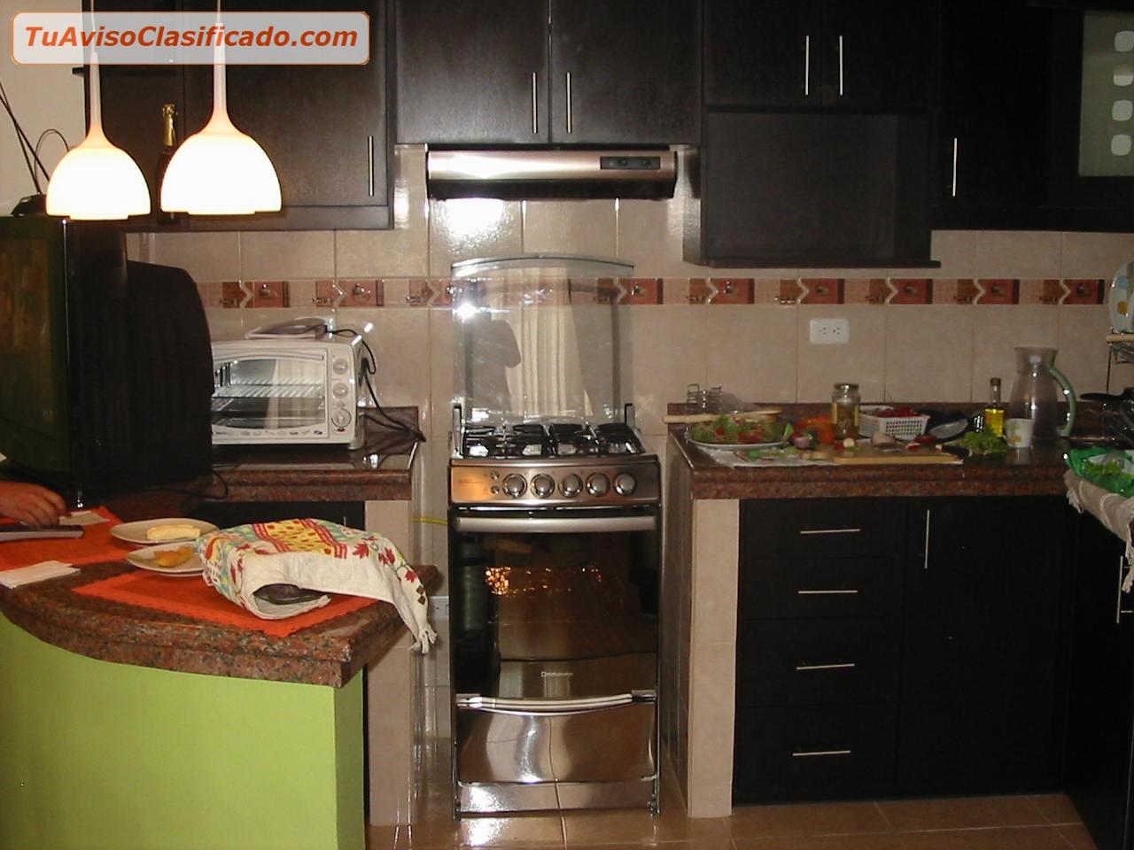 Muebles cocina closet puertas termolamindas granito for Granitos y marmoles cocinas
