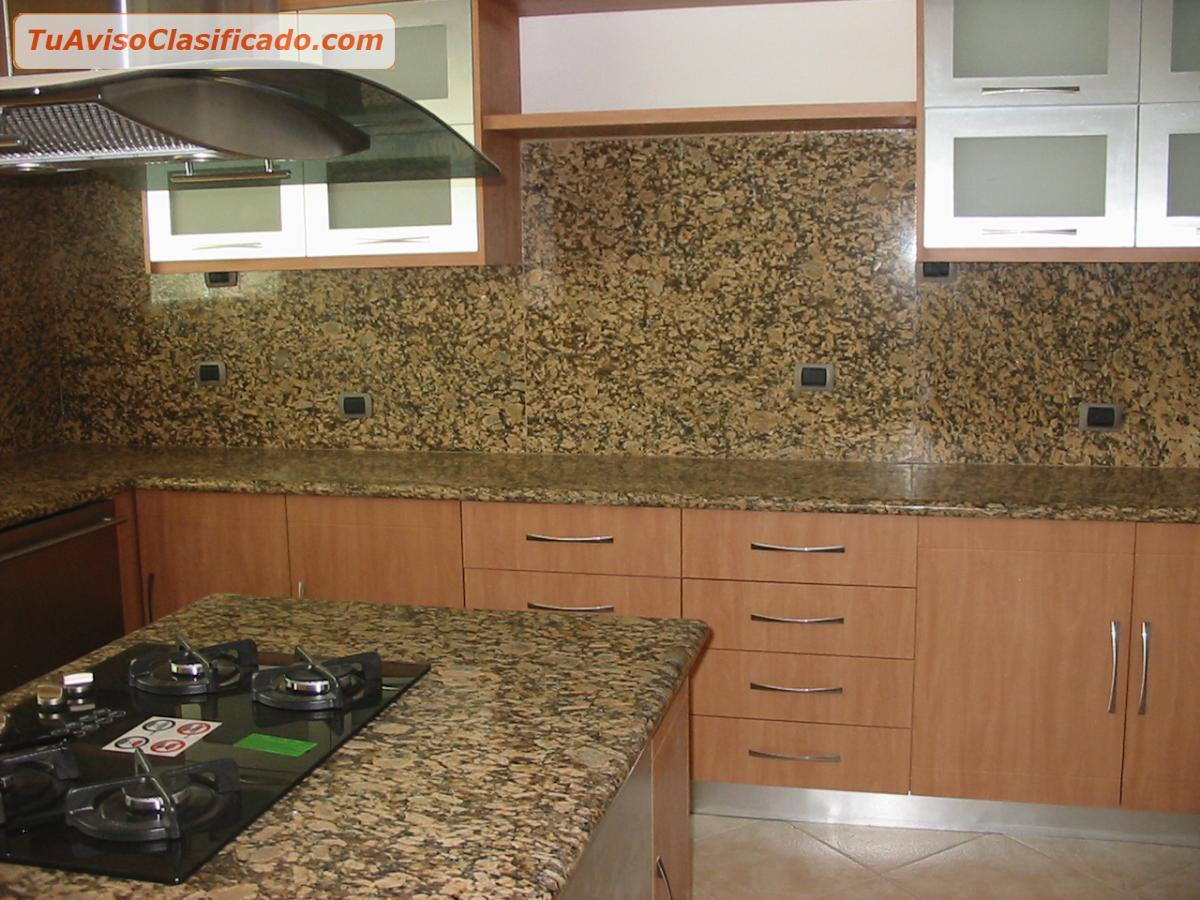 Mesones de granito desde 65mtl muebles desde 140 m2 for Modelos de marmol para cocina