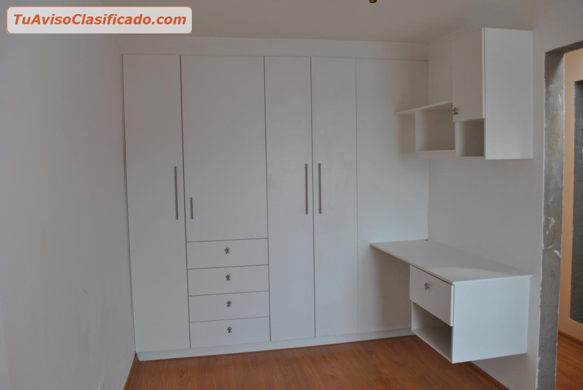 Muebles cocina closet puertas termolamindas granito for Muebles de closet