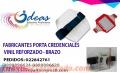 Porta credenciales varios modelos-rígidos-plásticos-de brazo reflexivos- credenciales
