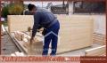 Casa, madera, y, De, Cemento, Paredes, Y, Techo, Antisismica, Quito, Pichincha, Ecuador
