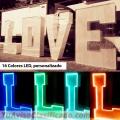 Alquiler de Letras Love Led para eventos