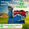 Máquina Peletizadora Diésel MKFD120A