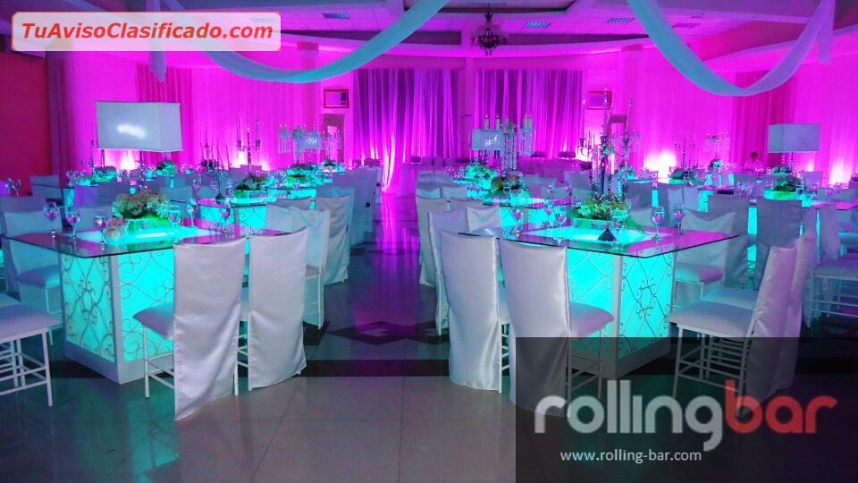 Salas lounge bares m viles dise o de eventos for Decoracion y ambientacion de eventos