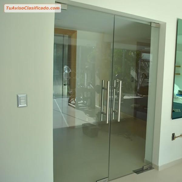 Vidrio templado con accesorios en acero empresas e for Accesorios mamparas