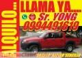 ALQUILO CAMIONETAS Mazda BT-50 Doble Cabina a diesel 4x4 full 2010 Y 2013 con Chofer