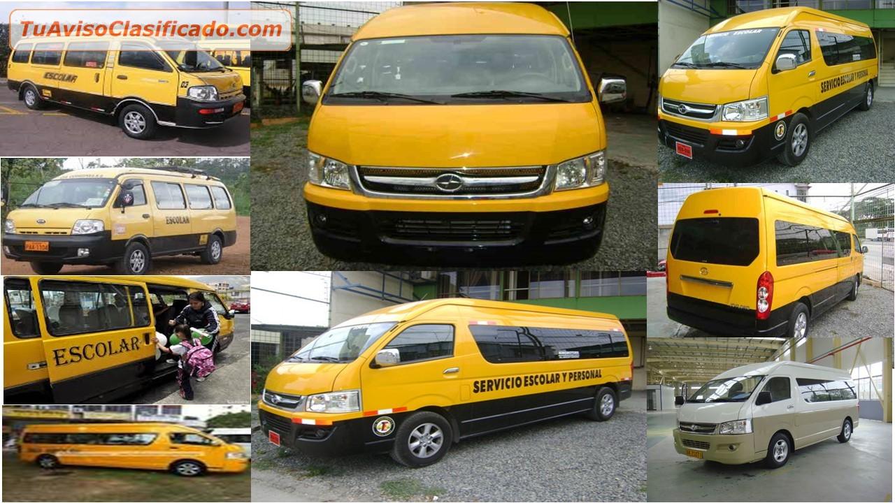 Servicio de transporte personal empresarial escolar - Servicio de transporte ...