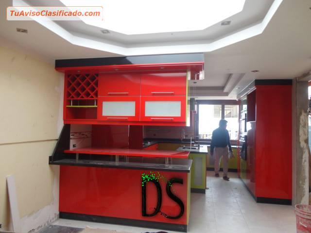 Muebles de cocina estilo americanas mobiliario y - Muebles de cocina modulares ...